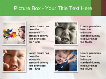 Child is crying PowerPoint Template - Slide 14