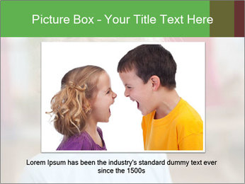 Child is crying PowerPoint Template - Slide 15