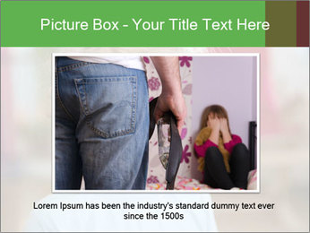 Child is crying PowerPoint Template - Slide 16