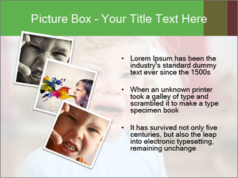Child is crying PowerPoint Template - Slide 17