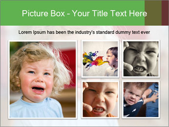 Child is crying PowerPoint Template - Slide 19