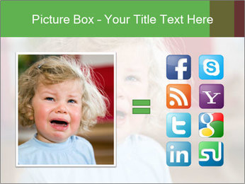 Child is crying PowerPoint Template - Slide 21