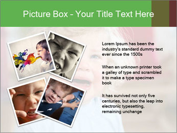 Child is crying PowerPoint Template - Slide 23