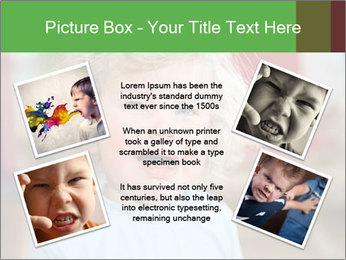 Child is crying PowerPoint Template - Slide 24