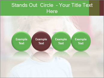 Child is crying PowerPoint Template - Slide 76