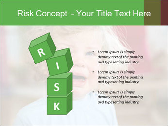 Child is crying PowerPoint Template - Slide 81