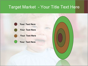 Child is crying PowerPoint Template - Slide 84