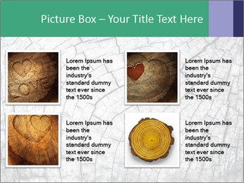 Wood detail PowerPoint Template - Slide 14