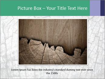 Wood detail PowerPoint Template - Slide 15