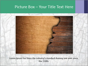 Wood detail PowerPoint Template - Slide 16