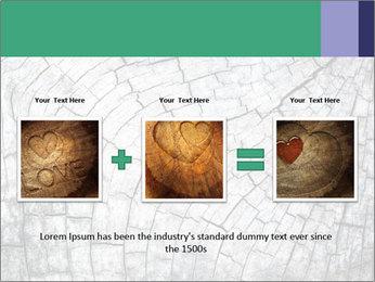 Wood detail PowerPoint Template - Slide 22