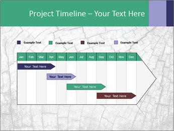 Wood detail PowerPoint Template - Slide 25
