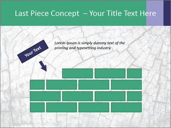 Wood detail PowerPoint Template - Slide 46