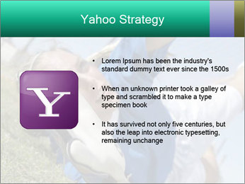 Young female soccer PowerPoint Template - Slide 11