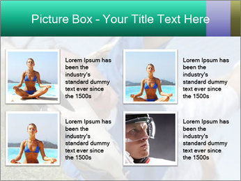 Young female soccer PowerPoint Template - Slide 14