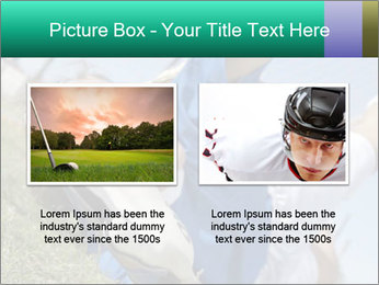 Young female soccer PowerPoint Template - Slide 18