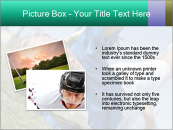 Young female soccer PowerPoint Template - Slide 20
