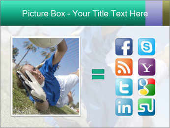 Young female soccer PowerPoint Template - Slide 21