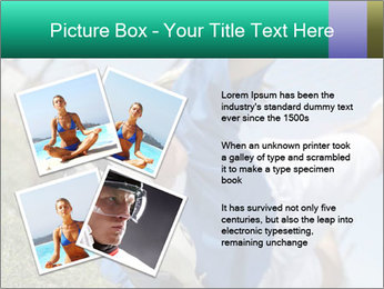 Young female soccer PowerPoint Template - Slide 23