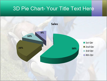 Young female soccer PowerPoint Template - Slide 35