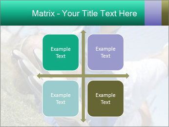 Young female soccer PowerPoint Template - Slide 37