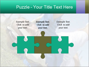 Young female soccer PowerPoint Template - Slide 42