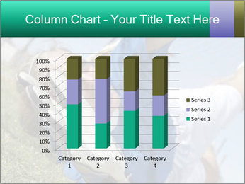 Young female soccer PowerPoint Template - Slide 50