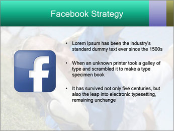 Young female soccer PowerPoint Template - Slide 6