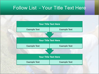 Young female soccer PowerPoint Template - Slide 60