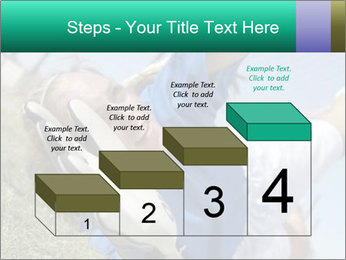 Young female soccer PowerPoint Template - Slide 64