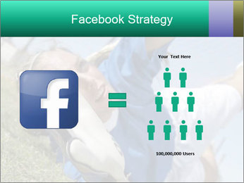Young female soccer PowerPoint Template - Slide 7