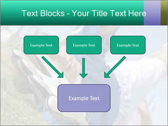Young female soccer PowerPoint Template - Slide 70