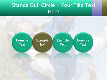 Young female soccer PowerPoint Template - Slide 76