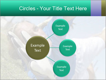 Young female soccer PowerPoint Template - Slide 79