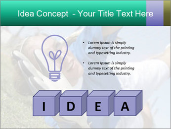 Young female soccer PowerPoint Template - Slide 80