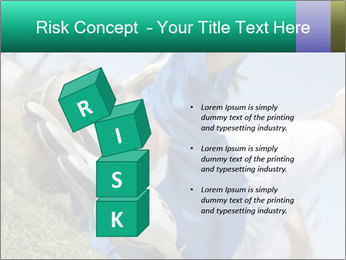 Young female soccer PowerPoint Template - Slide 81