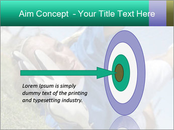 Young female soccer PowerPoint Template - Slide 83