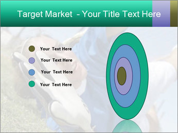 Young female soccer PowerPoint Template - Slide 84