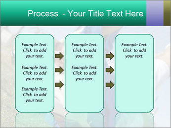 Young female soccer PowerPoint Template - Slide 86