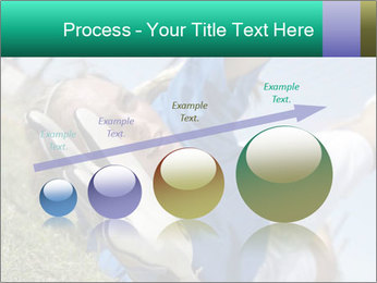 Young female soccer PowerPoint Template - Slide 87