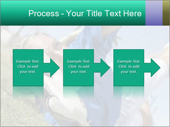 Young female soccer PowerPoint Template - Slide 88