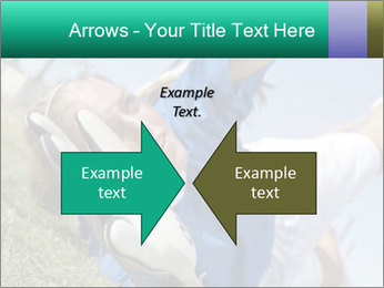 Young female soccer PowerPoint Template - Slide 90