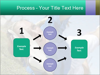 Young female soccer PowerPoint Template - Slide 92
