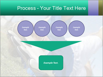 Young female soccer PowerPoint Template - Slide 93