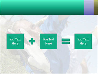 Young female soccer PowerPoint Template - Slide 95