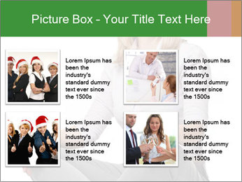 Sit woman PowerPoint Template - Slide 14