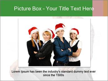 Sit woman PowerPoint Template - Slide 15