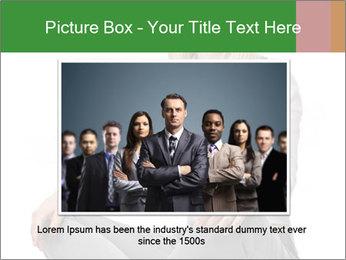 Sit woman PowerPoint Template - Slide 16