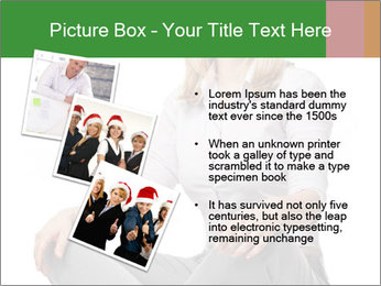Sit woman PowerPoint Template - Slide 17