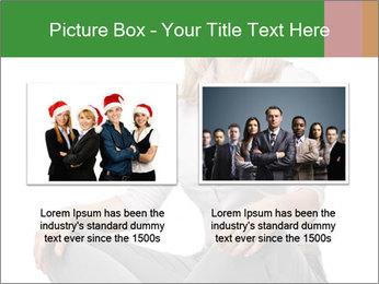 Sit woman PowerPoint Template - Slide 18